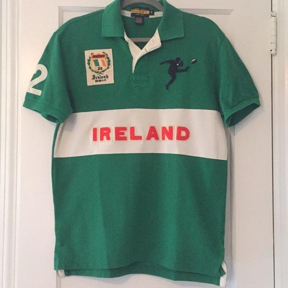 9ea92226 Ralph Lauren men's Ireland rugby polo shirt. M_5ad129bd84b5ce84c01b81d4